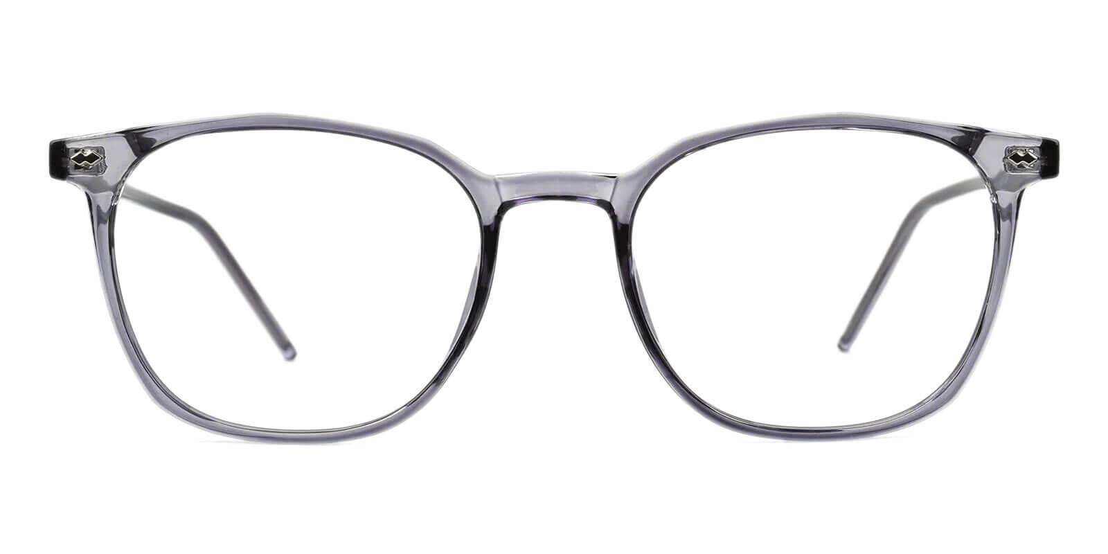 Prodigy Gray Acetate Eyeglasses , SpringHinges , UniversalBridgeFit Frames from ABBE Glasses