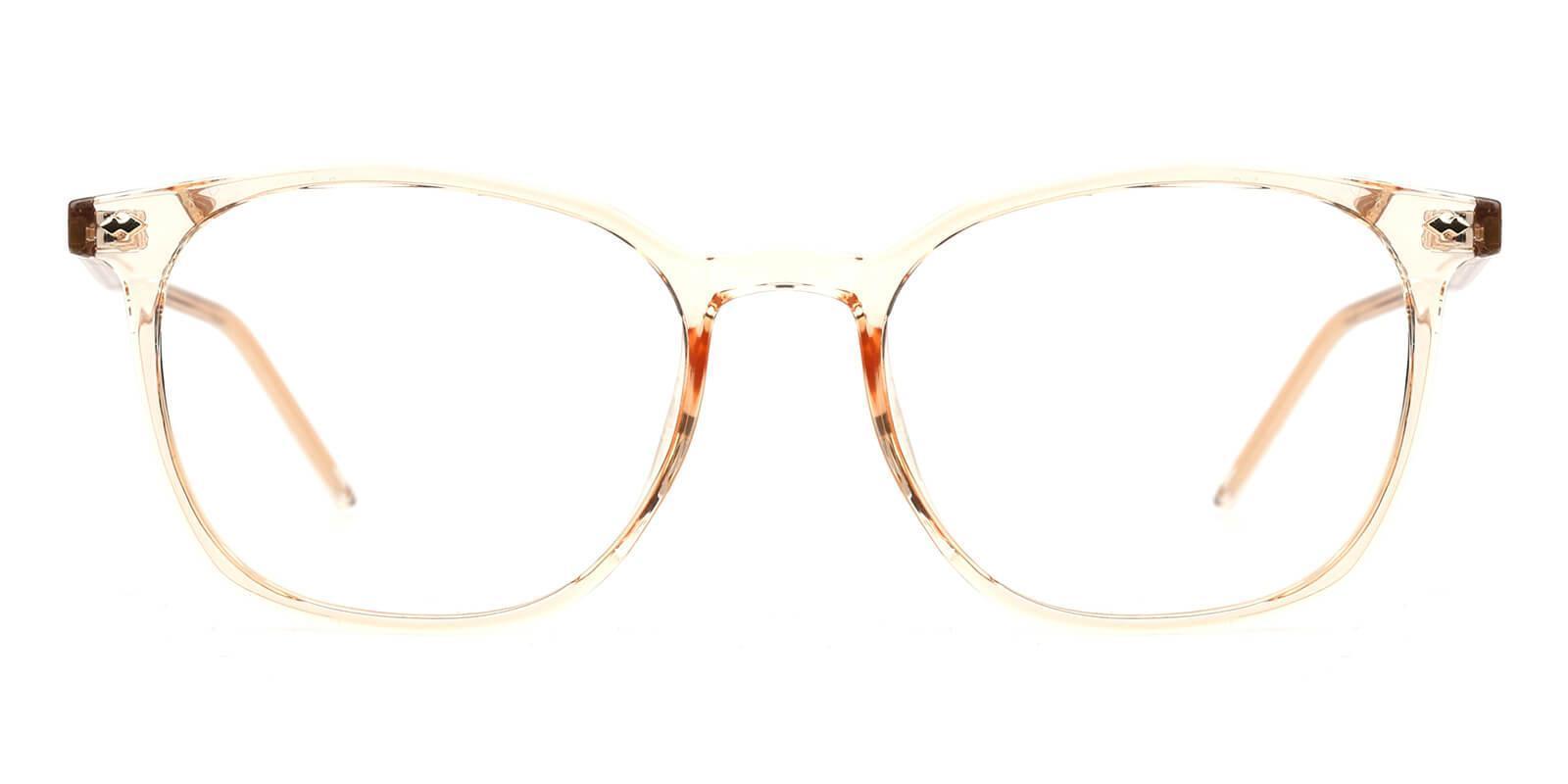 Prodigy Orange Acetate SpringHinges , UniversalBridgeFit , Eyeglasses Frames from ABBE Glasses