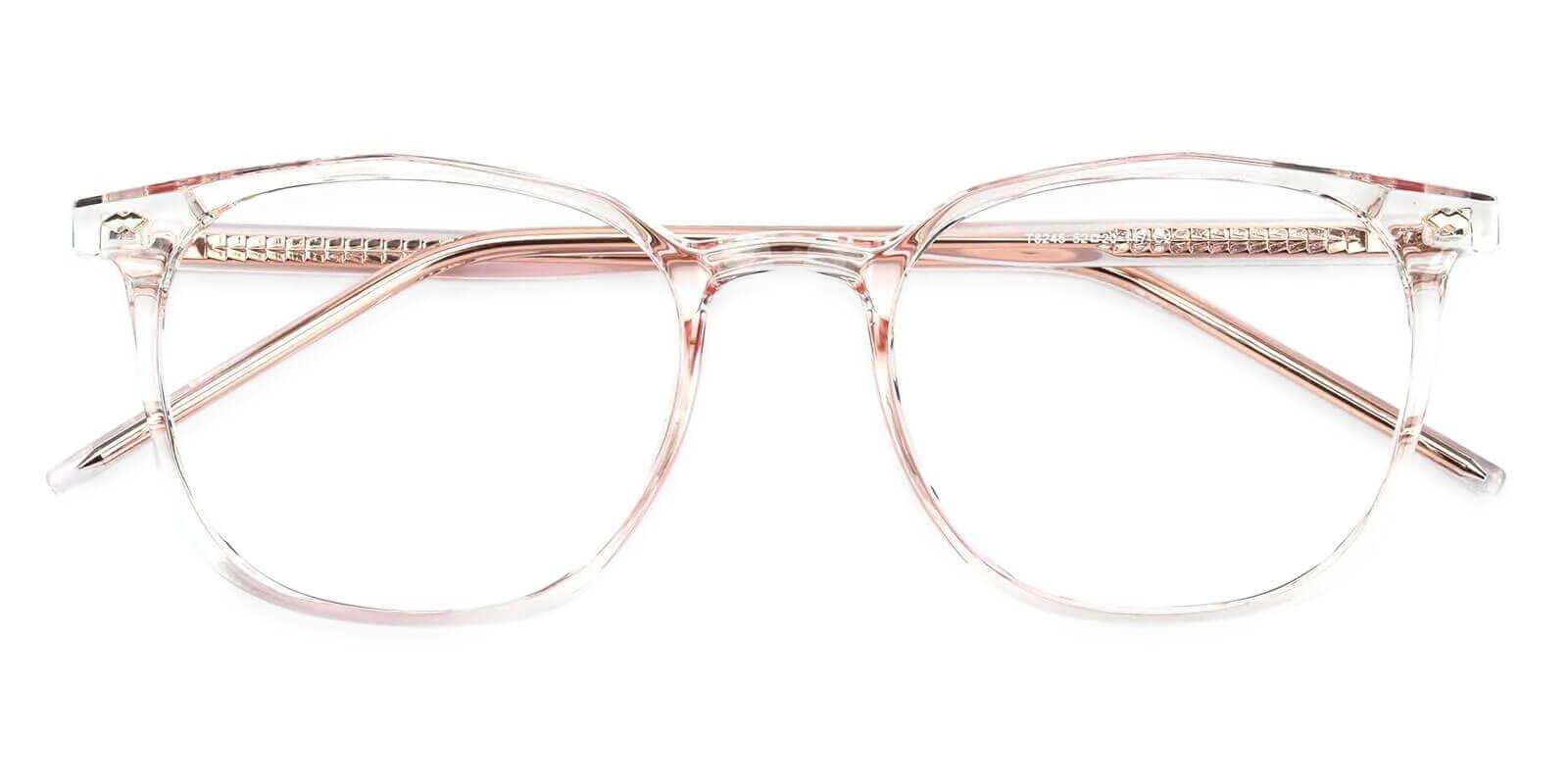 Prodigy Pink Acetate Eyeglasses , SpringHinges , UniversalBridgeFit Frames from ABBE Glasses