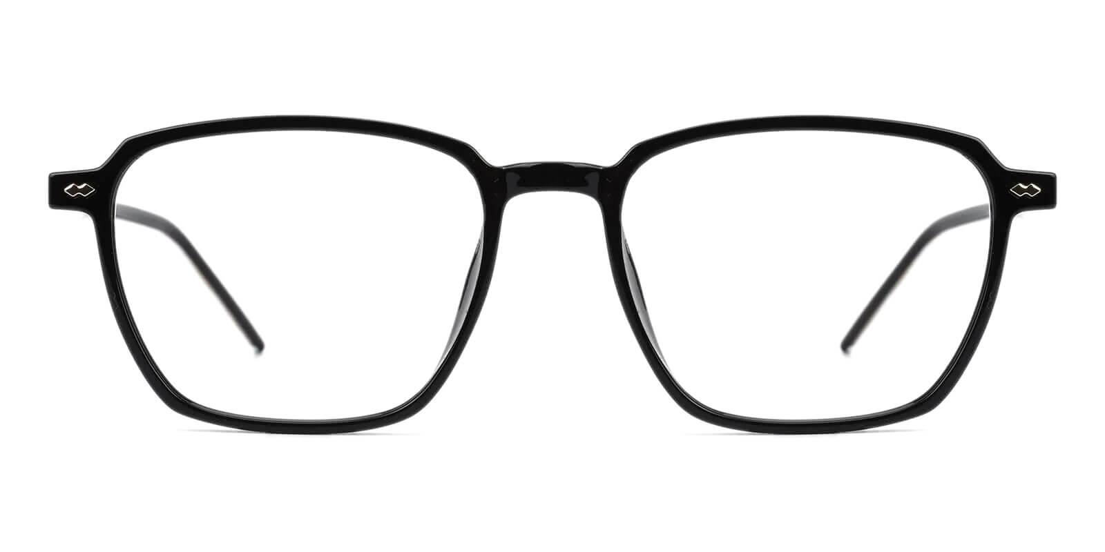 Flume Black TR Eyeglasses , SpringHinges , UniversalBridgeFit Frames from ABBE Glasses
