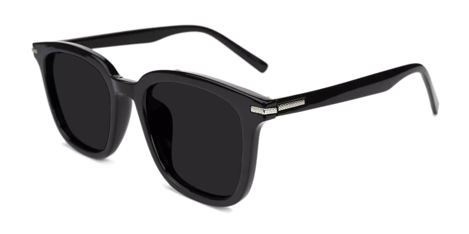 Willow Black Acetate UniversalBridgeFit , Fashion , Sunglasses Frames from ABBE Glasses