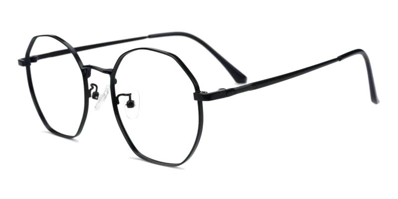 Black Jadeite - Metal Eyeglasses , Fashion , NosePads