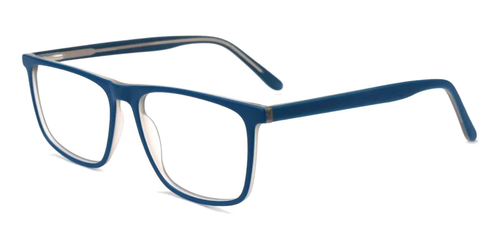 Doris Blue Acetate Eyeglasses , Fashion , SpringHinges , UniversalBridgeFit Frames from ABBE Glasses