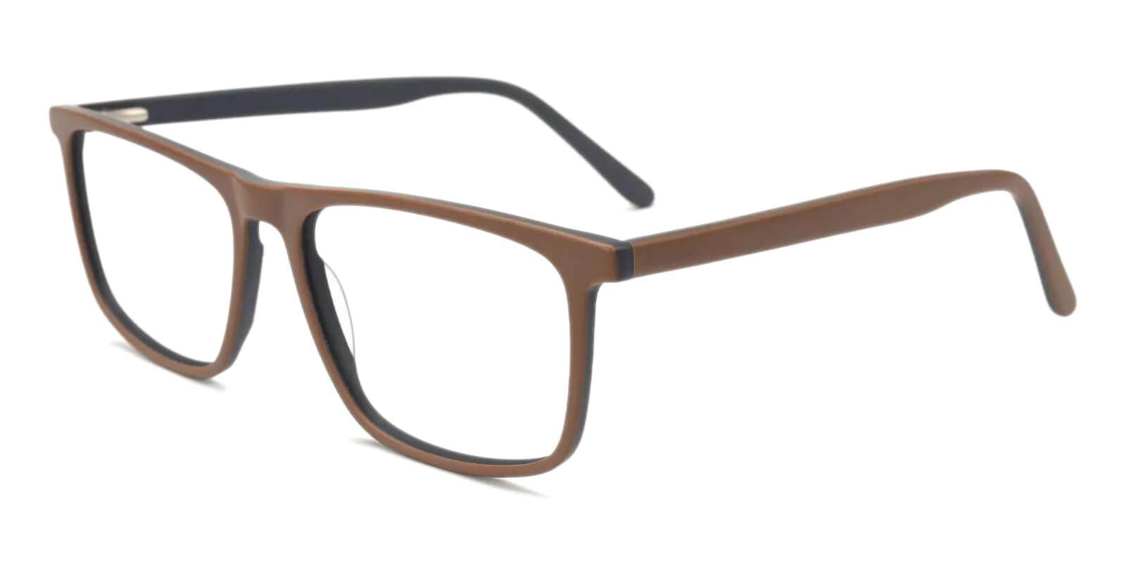 Doris Brown Acetate Eyeglasses , Fashion , SpringHinges , UniversalBridgeFit Frames from ABBE Glasses