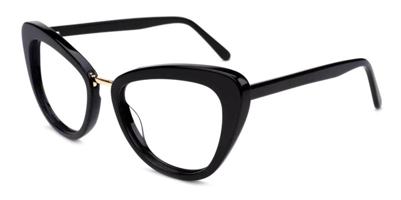Black Lizzy - Acetate ,Universal Bridge Fit