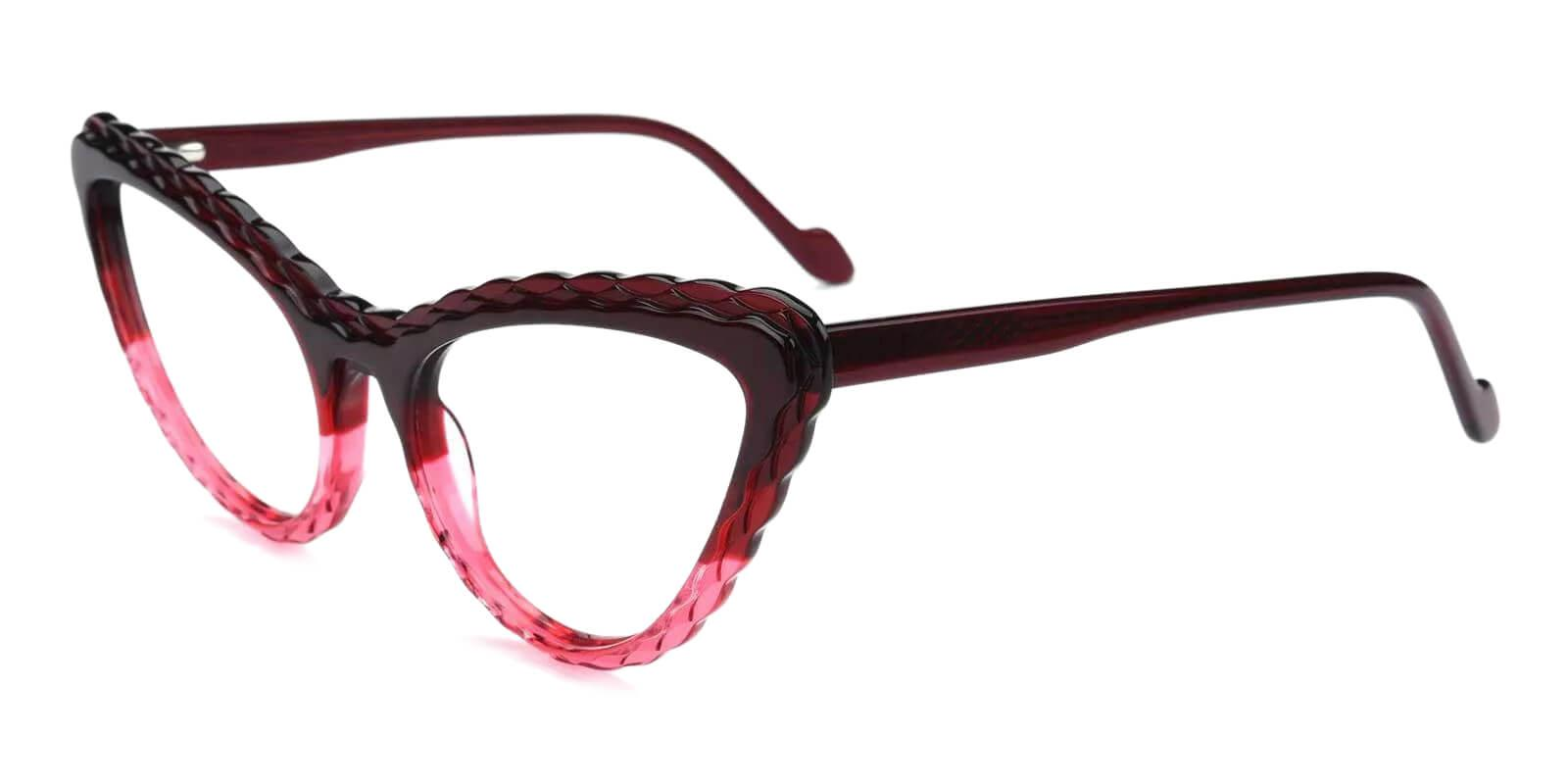 Harmt Purple Acetate Eyeglasses , Fashion , SpringHinges , UniversalBridgeFit Frames from ABBE Glasses
