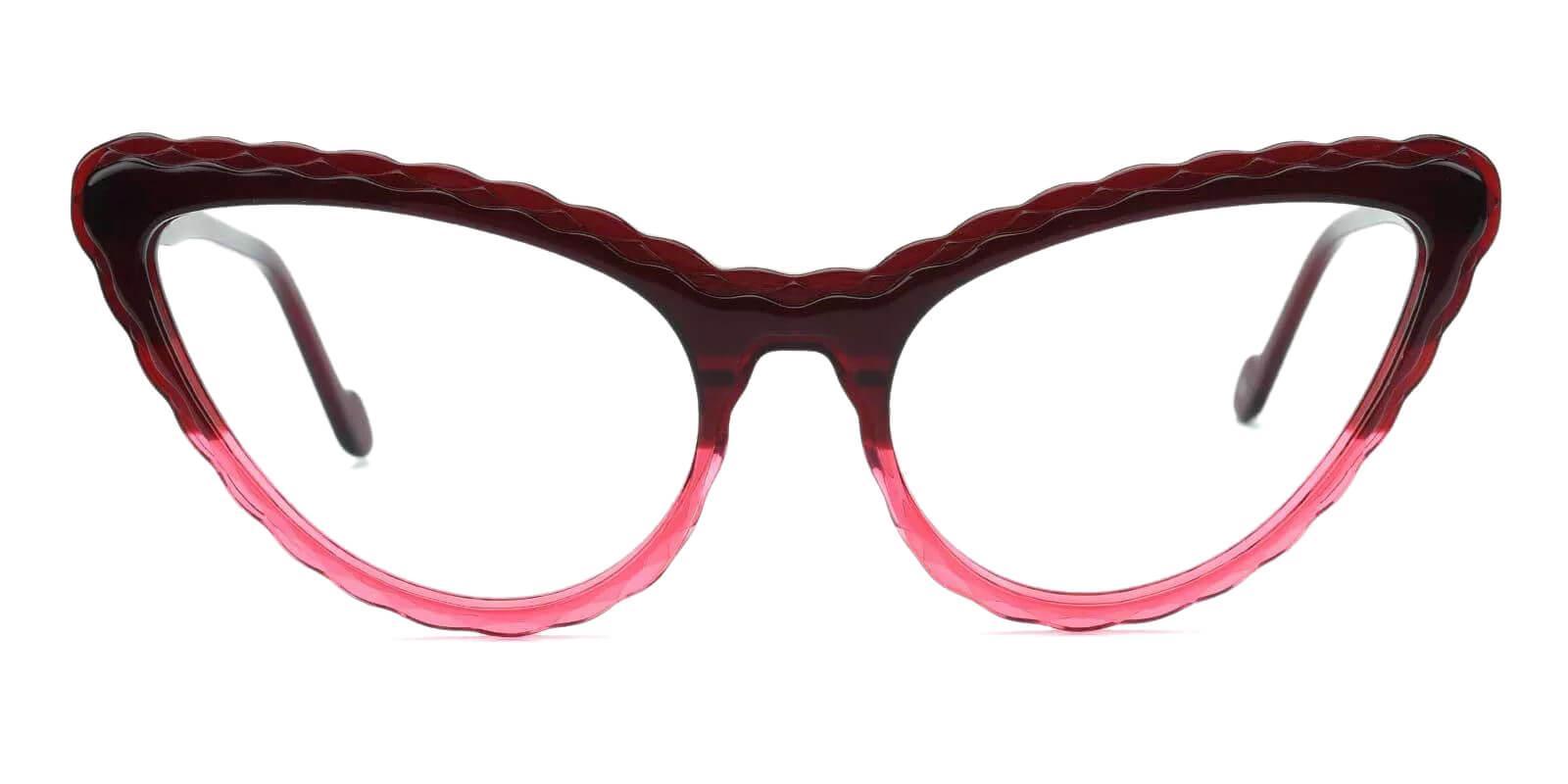 Harmt Purple Acetate Eyeglasses , Fashion , SpringHinges , UniversalBridgeFit Frames from ABBE Glasses