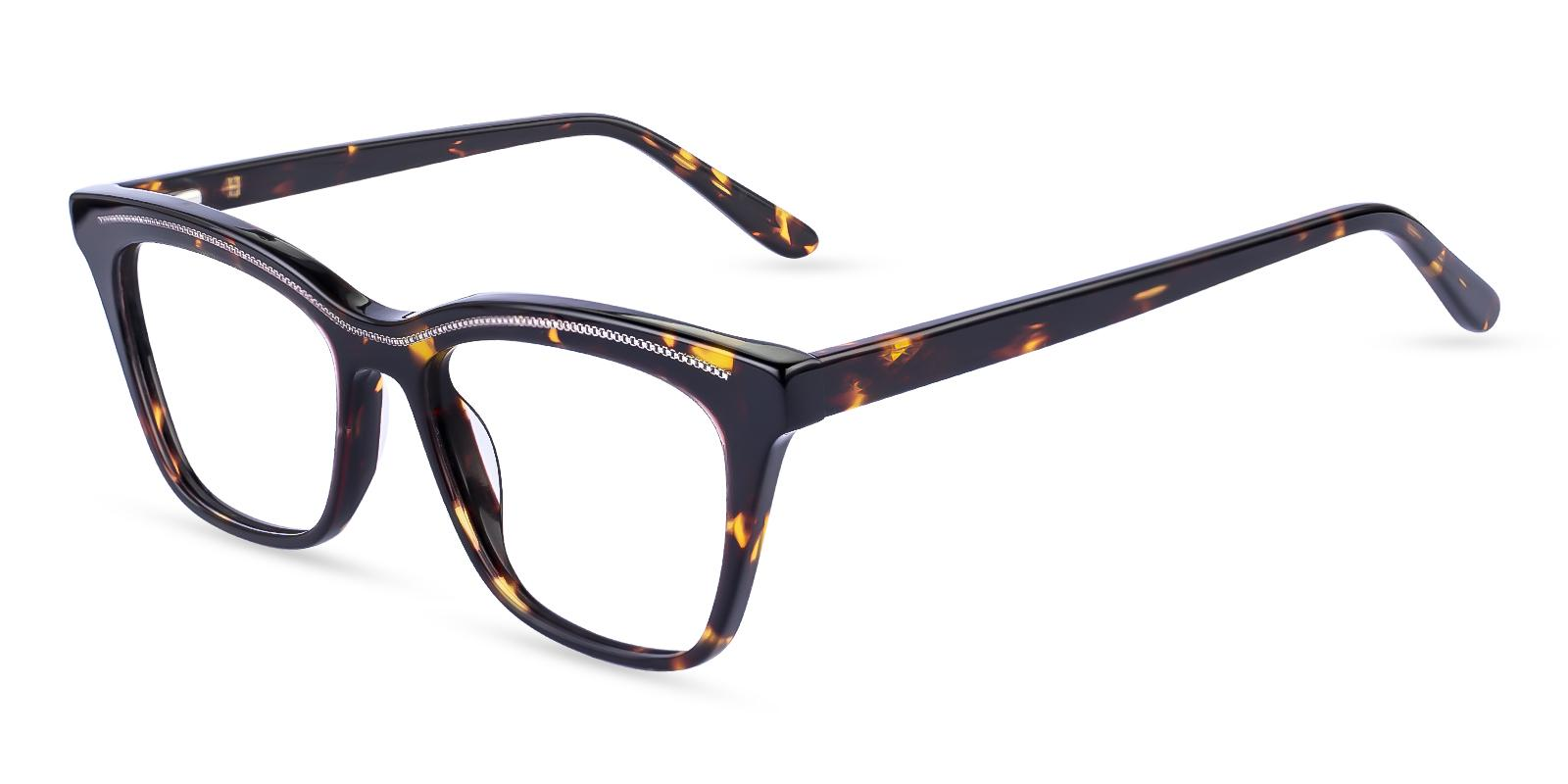 Kate Tortoise Acetate Eyeglasses , Fashion , SpringHinges , UniversalBridgeFit Frames from ABBE Glasses