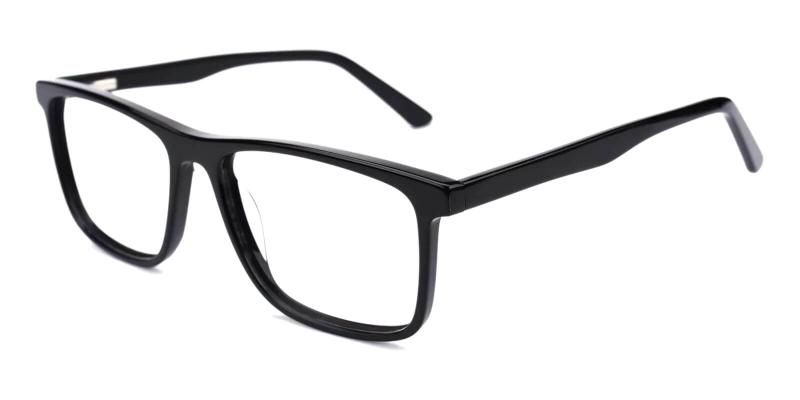 Black Fay - Acetate ,Universal Bridge Fit