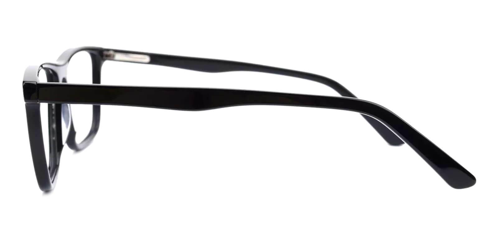 Fay Black Acetate Eyeglasses , Fashion , SpringHinges , UniversalBridgeFit Frames from ABBE Glasses