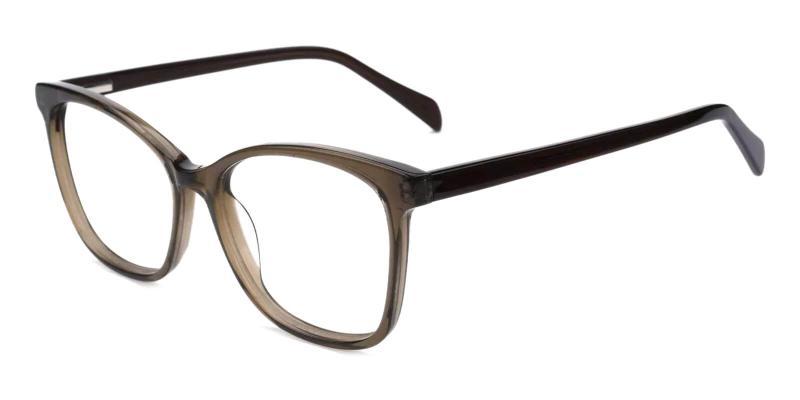 Green Coliny - Acetate Eyeglasses , Fashion , SpringHinges , UniversalBridgeFit