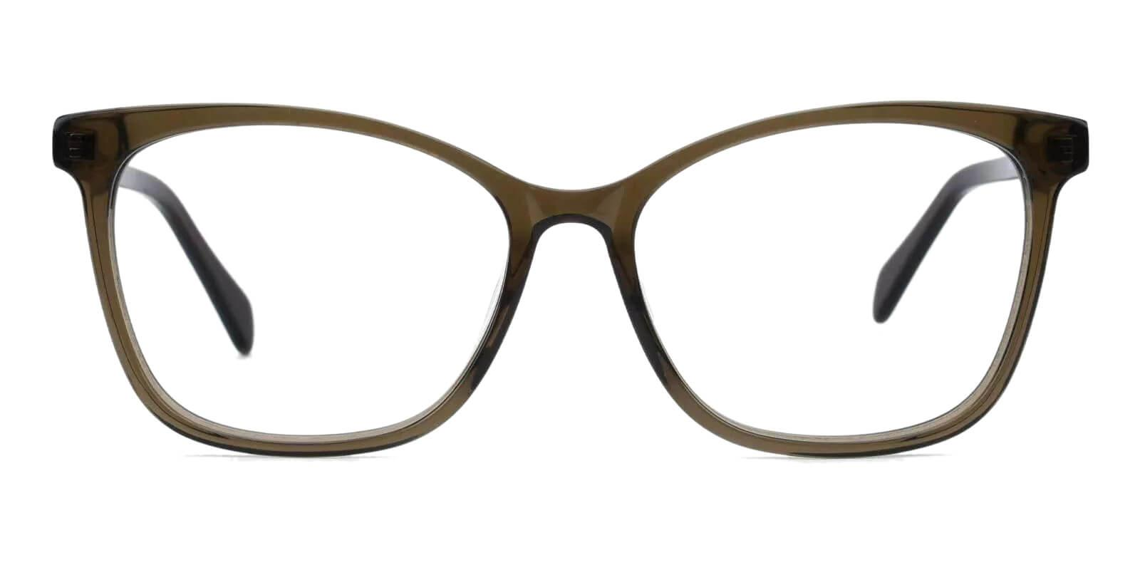 Coliny Green Acetate Eyeglasses , Fashion , SpringHinges , UniversalBridgeFit Frames from ABBE Glasses