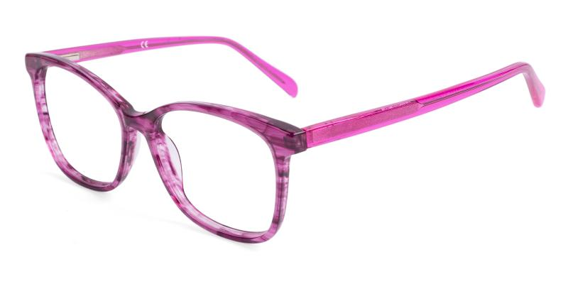 Pink Coliny - Acetate ,Universal Bridge Fit
