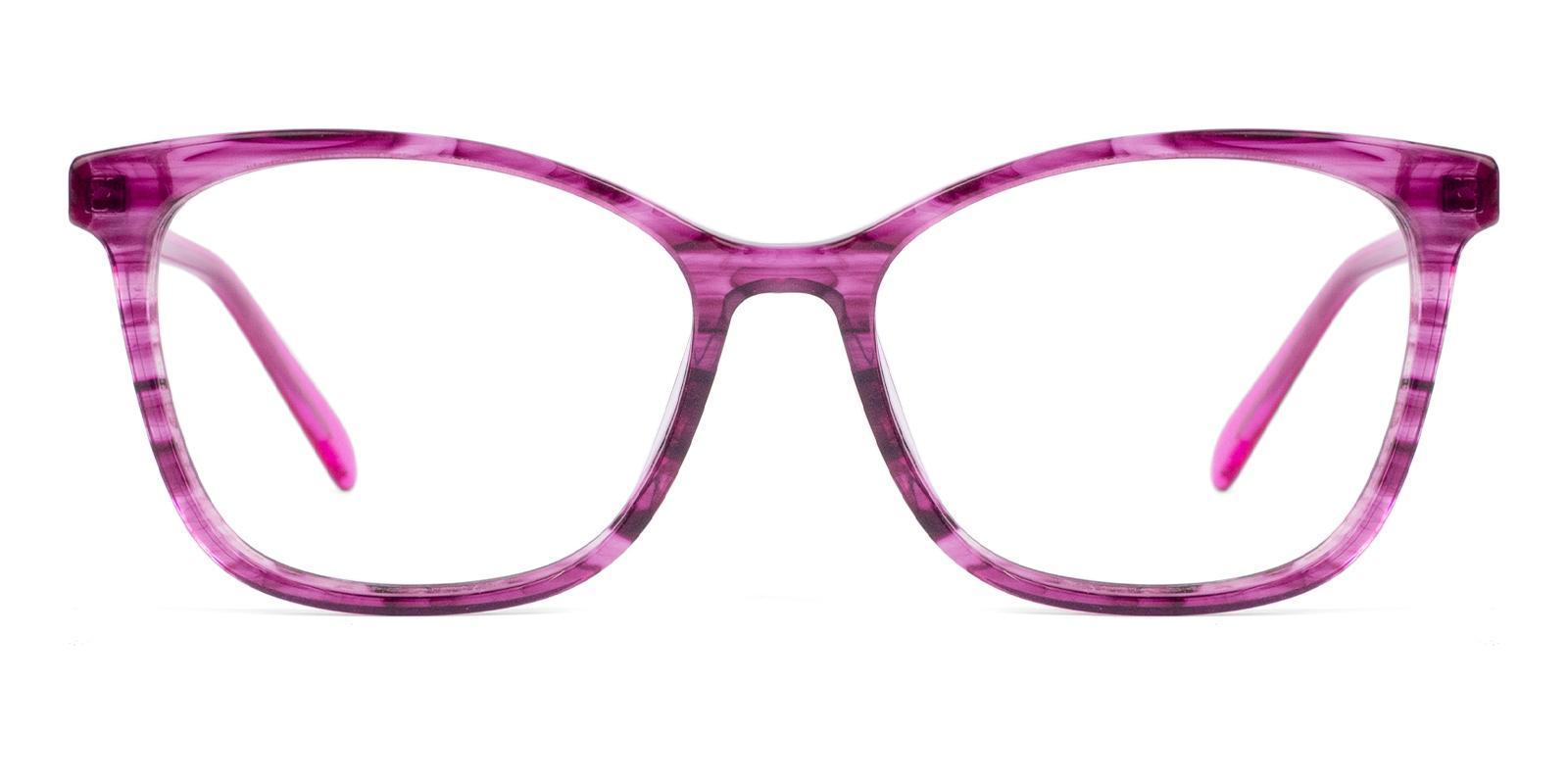 Coliny Pink Acetate Eyeglasses , Fashion , SpringHinges , UniversalBridgeFit Frames from ABBE Glasses