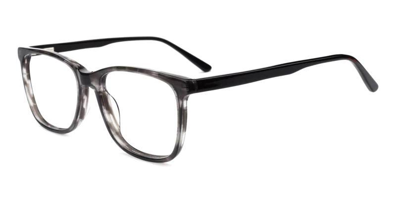 Gray Gulio - Acetate Eyeglasses , Fashion , SpringHinges , UniversalBridgeFit