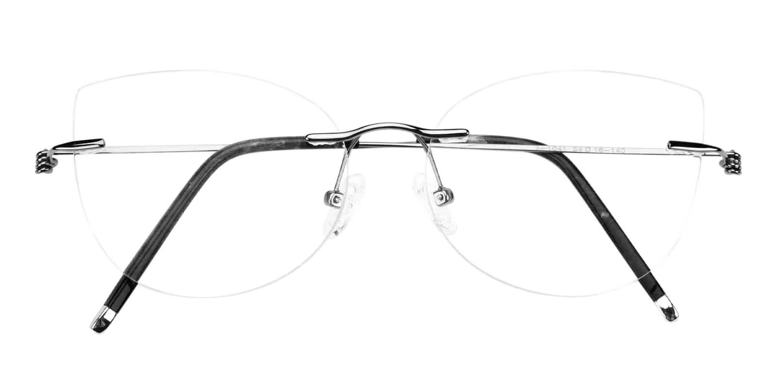 Karma Gun Metal Eyeglasses , Fashion , NosePads Frames from ABBE Glasses