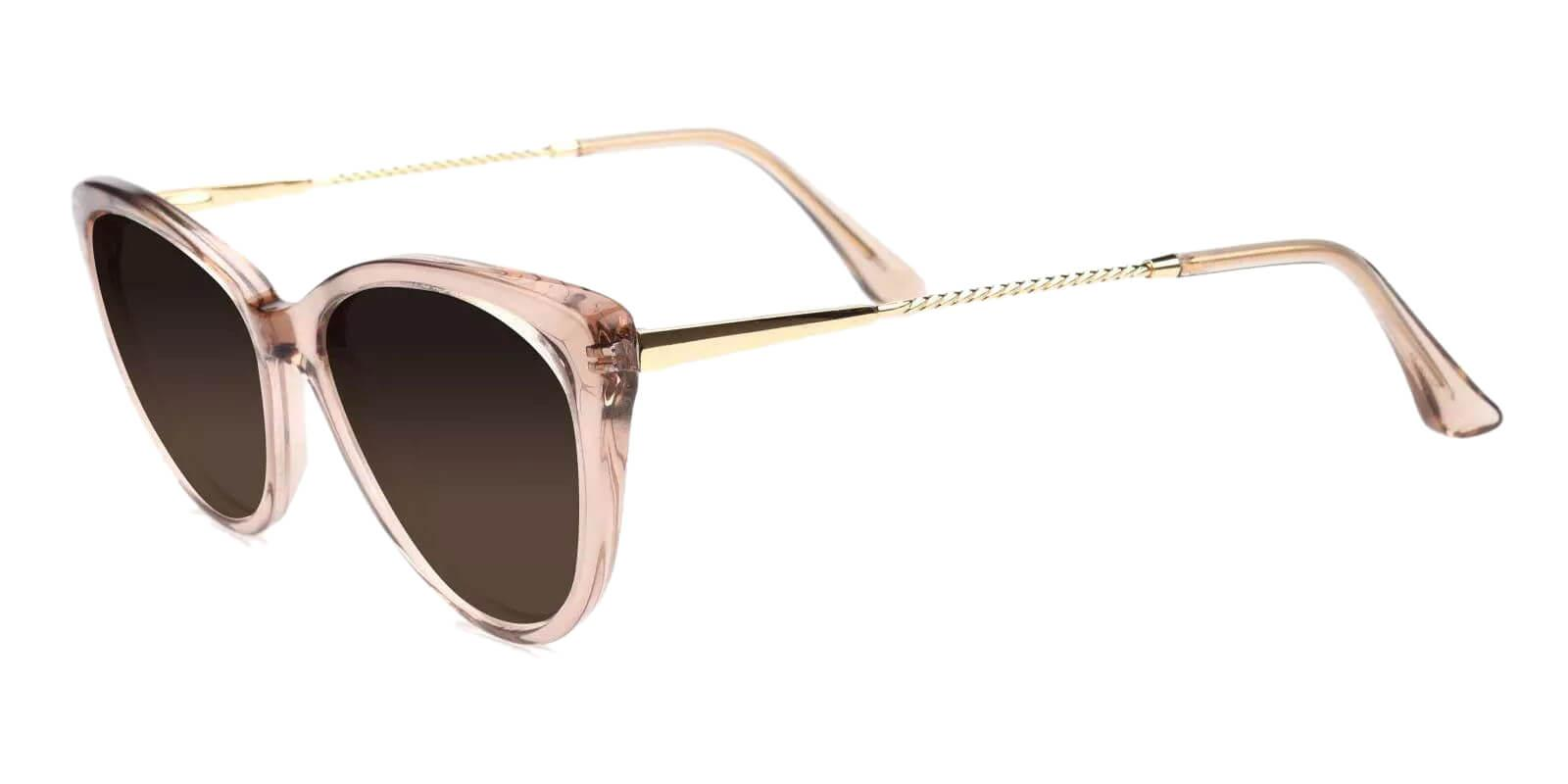Benson Pink Combination Fashion , SpringHinges , Sunglasses , UniversalBridgeFit Frames from ABBE Glasses