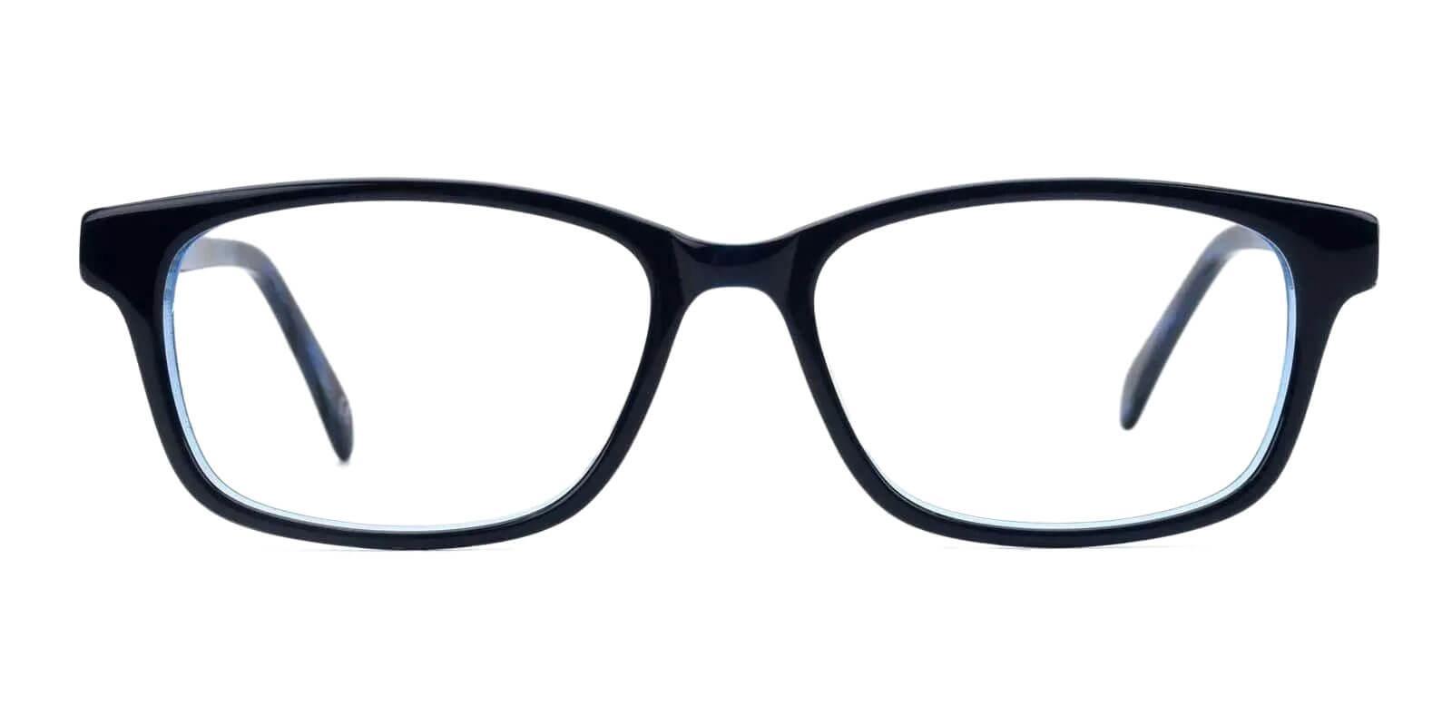 Emmi Blue Acetate Eyeglasses , Fashion , UniversalBridgeFit Frames from ABBE Glasses