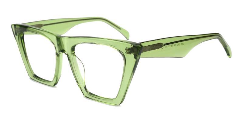Green Haley - Acetate Eyeglasses , Fashion , UniversalBridgeFit