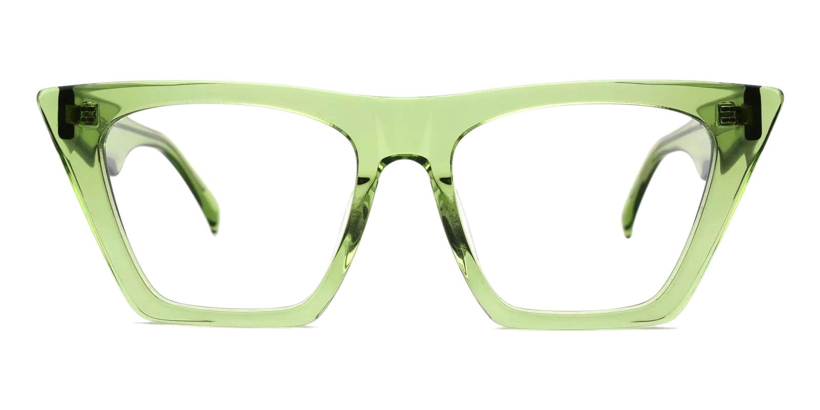 Haley Green Acetate Eyeglasses , Fashion , UniversalBridgeFit Frames from ABBE Glasses