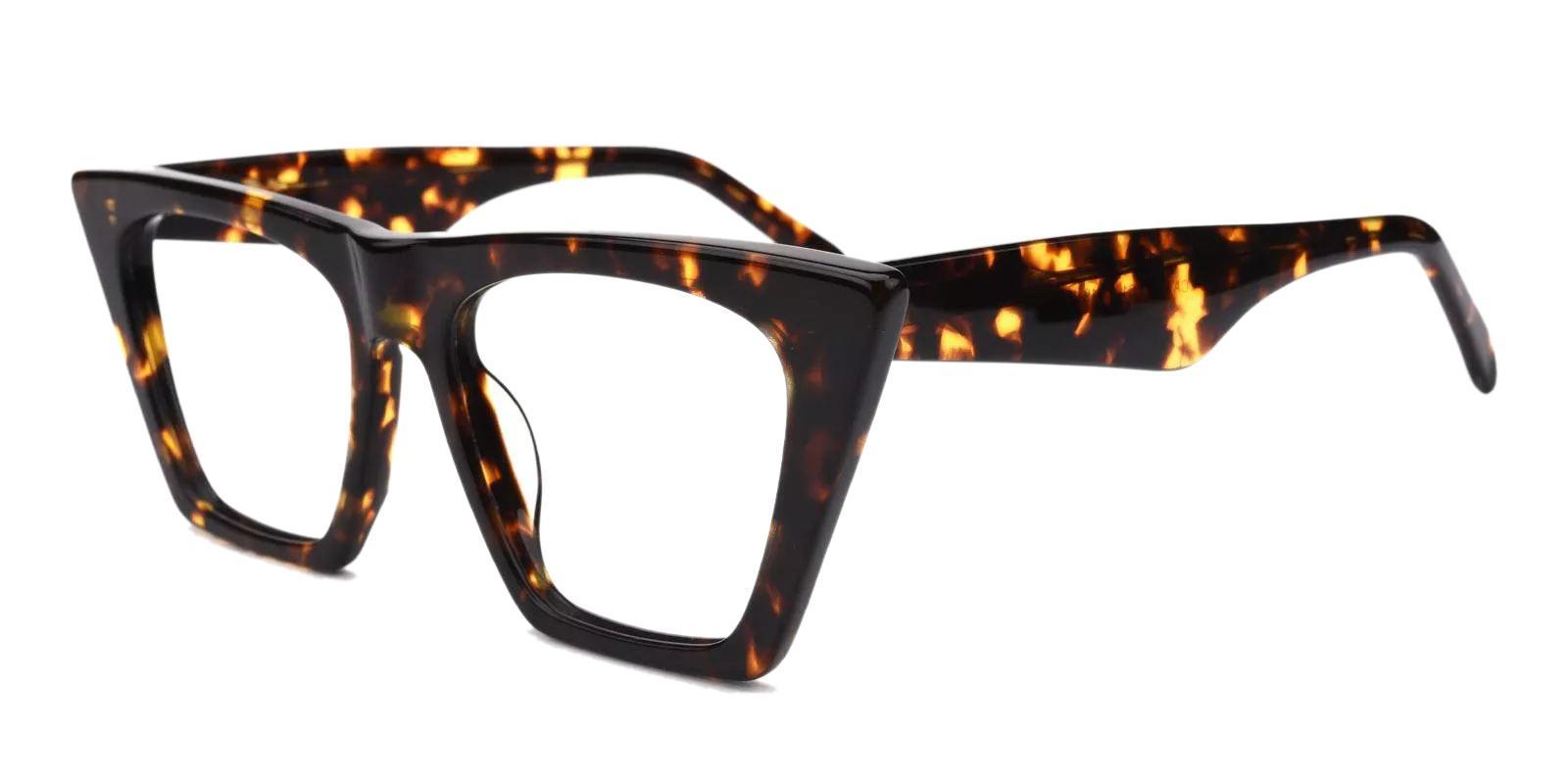Haley Tortoise Acetate Eyeglasses , Fashion , UniversalBridgeFit Frames from ABBE Glasses