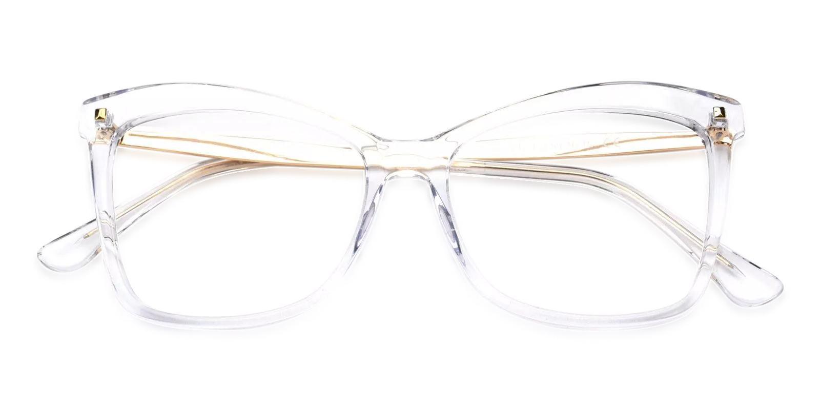Bertha Translucent Acetate , Metal Eyeglasses , Fashion , UniversalBridgeFit Frames from ABBE Glasses