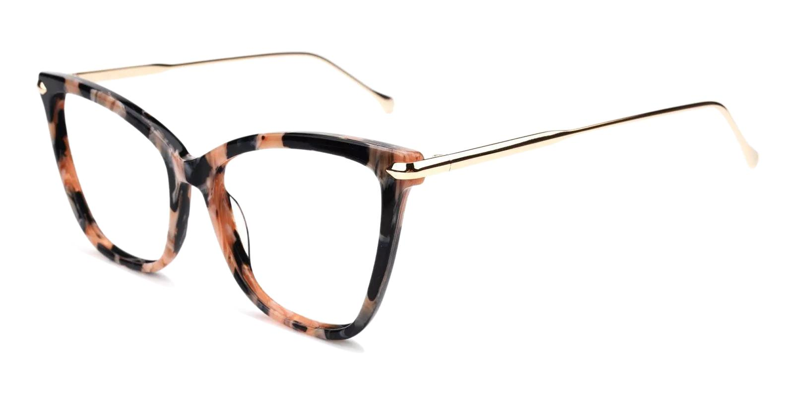 Gosse Pink Acetate , Metal Eyeglasses , Fashion , UniversalBridgeFit Frames from ABBE Glasses