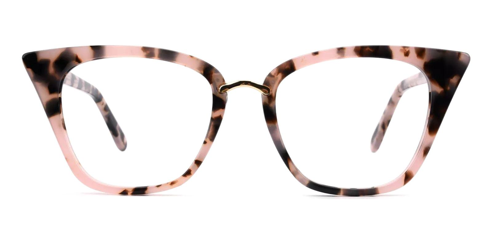 Damara Pattern Acetate , Metal Eyeglasses , Fashion , SpringHinges , UniversalBridgeFit Frames from ABBE Glasses