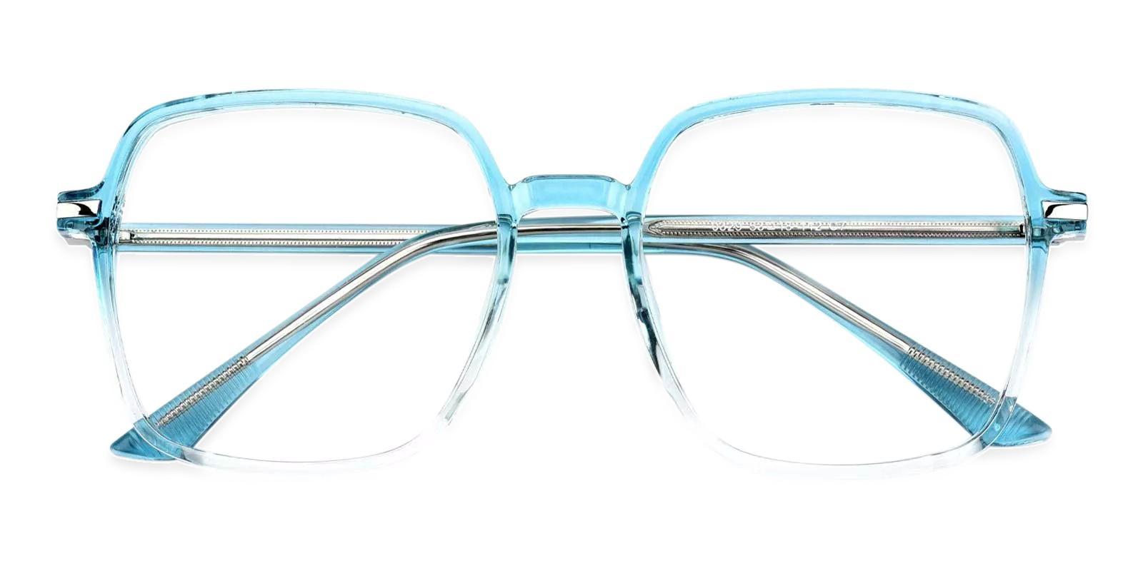 Alisha Blue Combination Eyeglasses , Fashion , UniversalBridgeFit Frames from ABBE Glasses