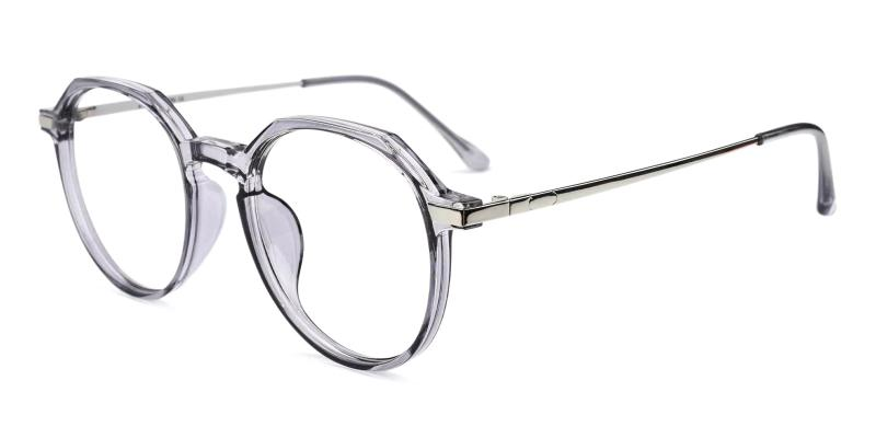 Gray Hobbit - Combination Eyeglasses , Fashion , UniversalBridgeFit