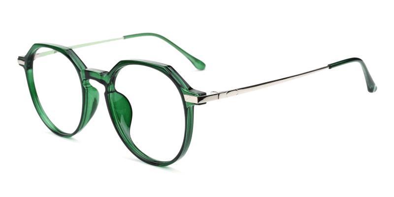 Green Hobbit - Combination Eyeglasses , Fashion , UniversalBridgeFit