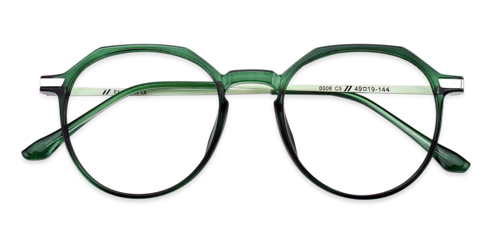 Hobbit Green Combination Eyeglasses , Fashion , UniversalBridgeFit Frames from ABBE Glasses