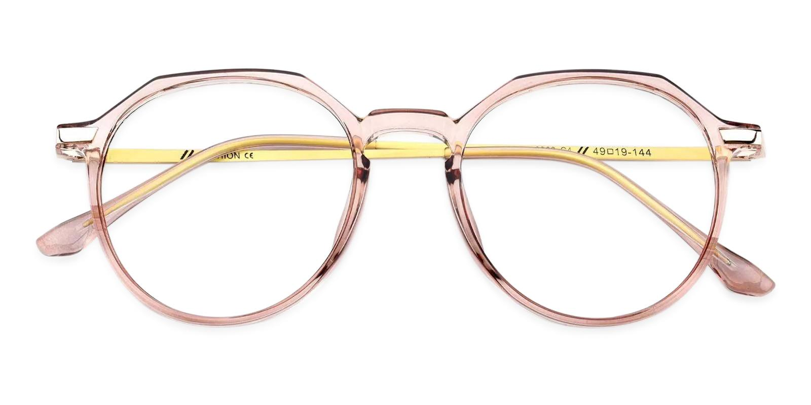 Hobbit Pink Combination Eyeglasses , Fashion , UniversalBridgeFit Frames from ABBE Glasses