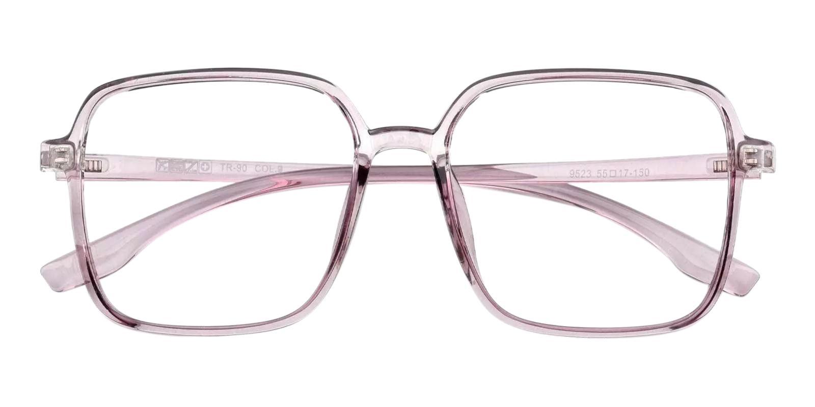 Rainbow Purple Plastic Eyeglasses , Fashion , UniversalBridgeFit Frames from ABBE Glasses