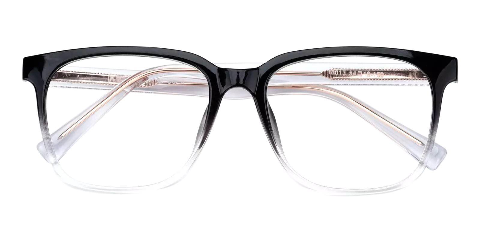 Gaston Black TR Eyeglasses , Fashion , UniversalBridgeFit Frames from ABBE Glasses