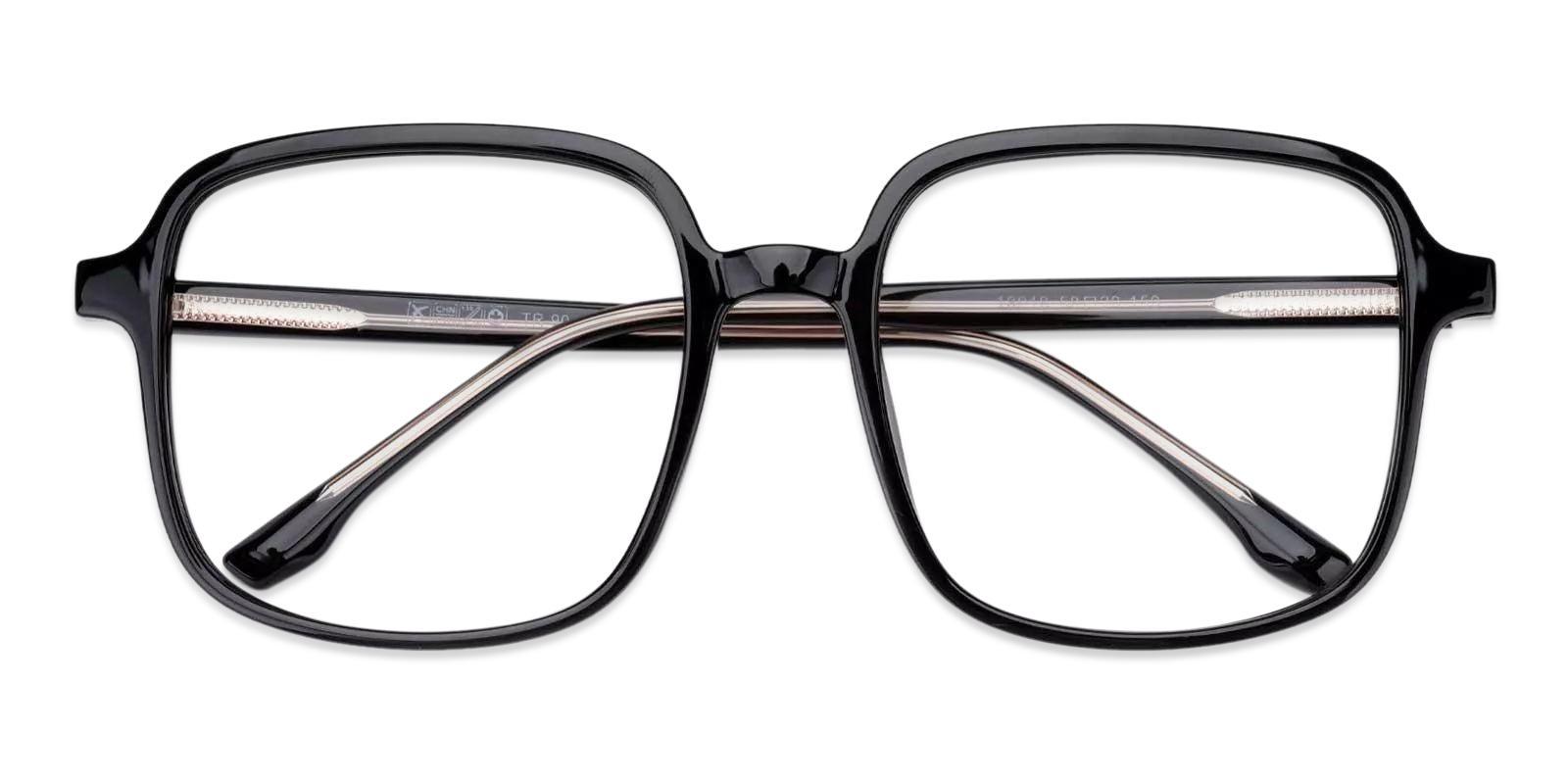 Canvas Black TR Eyeglasses , Fashion , UniversalBridgeFit Frames from ABBE Glasses