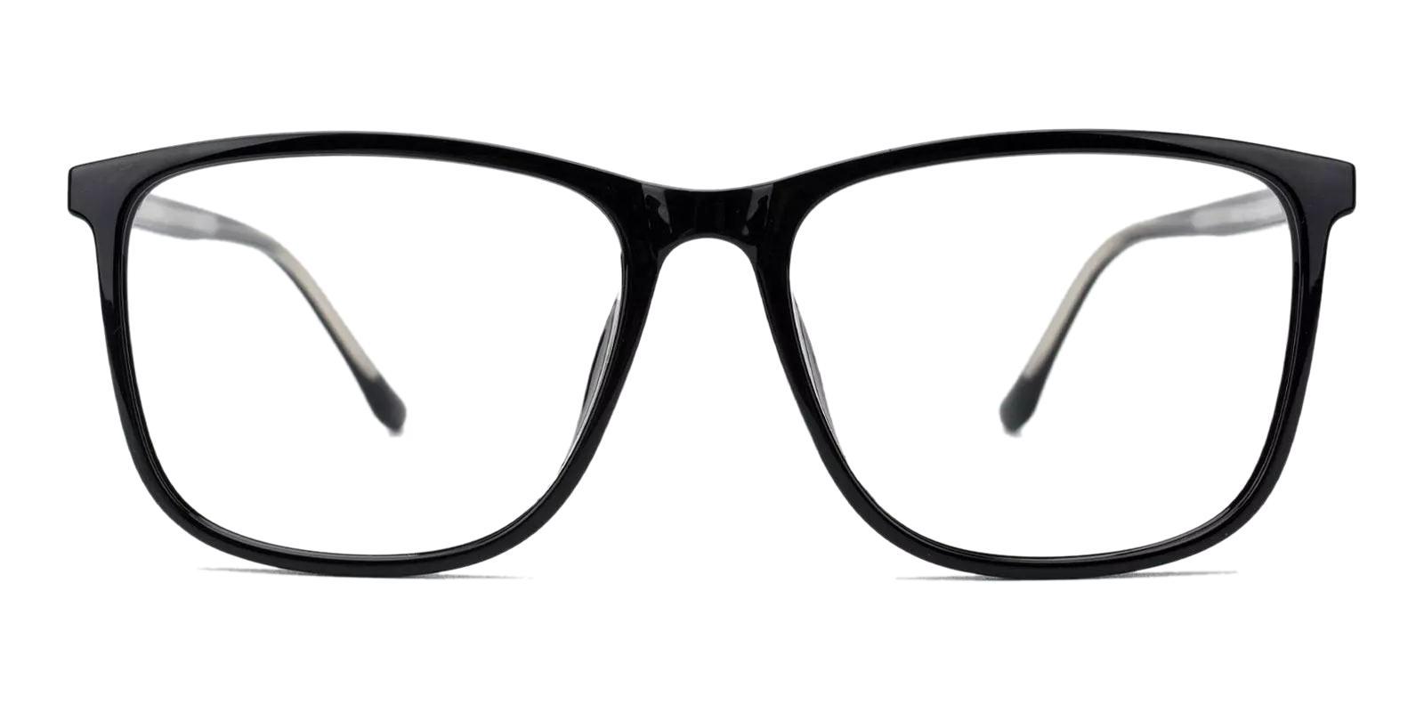 Abazam Black TR Eyeglasses , Fashion , UniversalBridgeFit Frames from ABBE Glasses