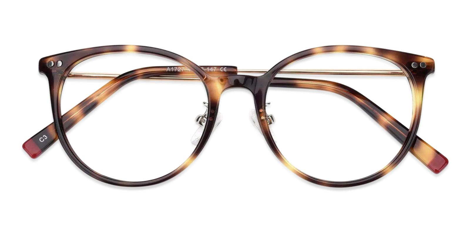 Lenny Leopard Combination Eyeglasses , Fashion , NosePads Frames from ABBE Glasses