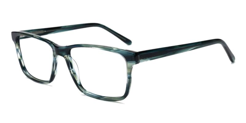 Green Moment - Acetate ,Universal Bridge Fit