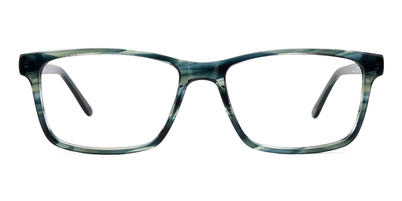 Moment Green Acetate Eyeglasses , Fashion , SpringHinges , UniversalBridgeFit Frames from ABBE Glasses
