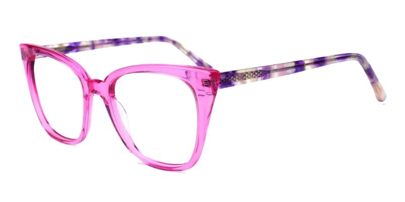 Purple Colman - Acetate ,Universal Bridge Fit