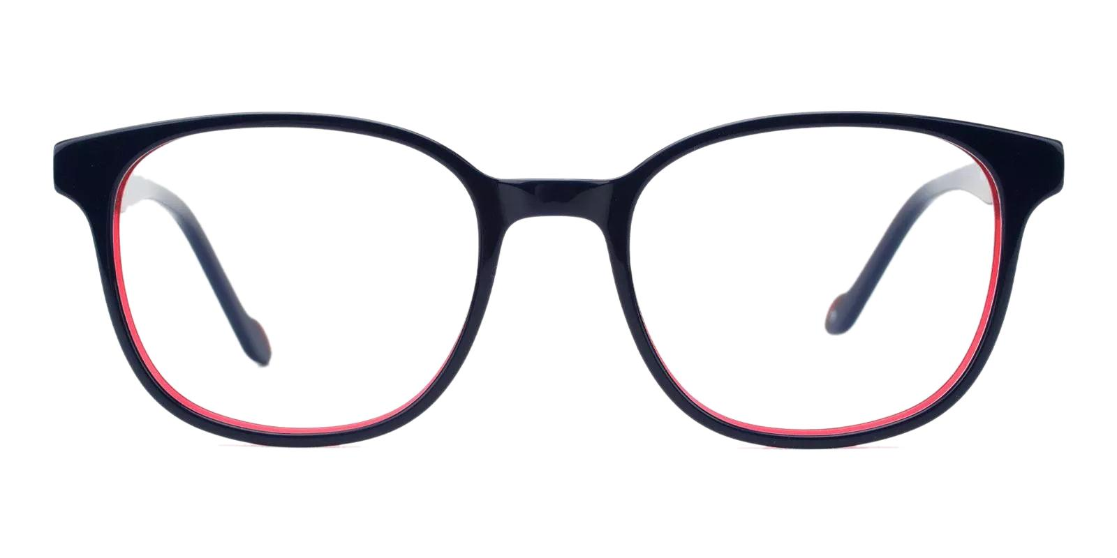 Marina Blue Acetate Eyeglasses , Fashion , SpringHinges , UniversalBridgeFit Frames from ABBE Glasses