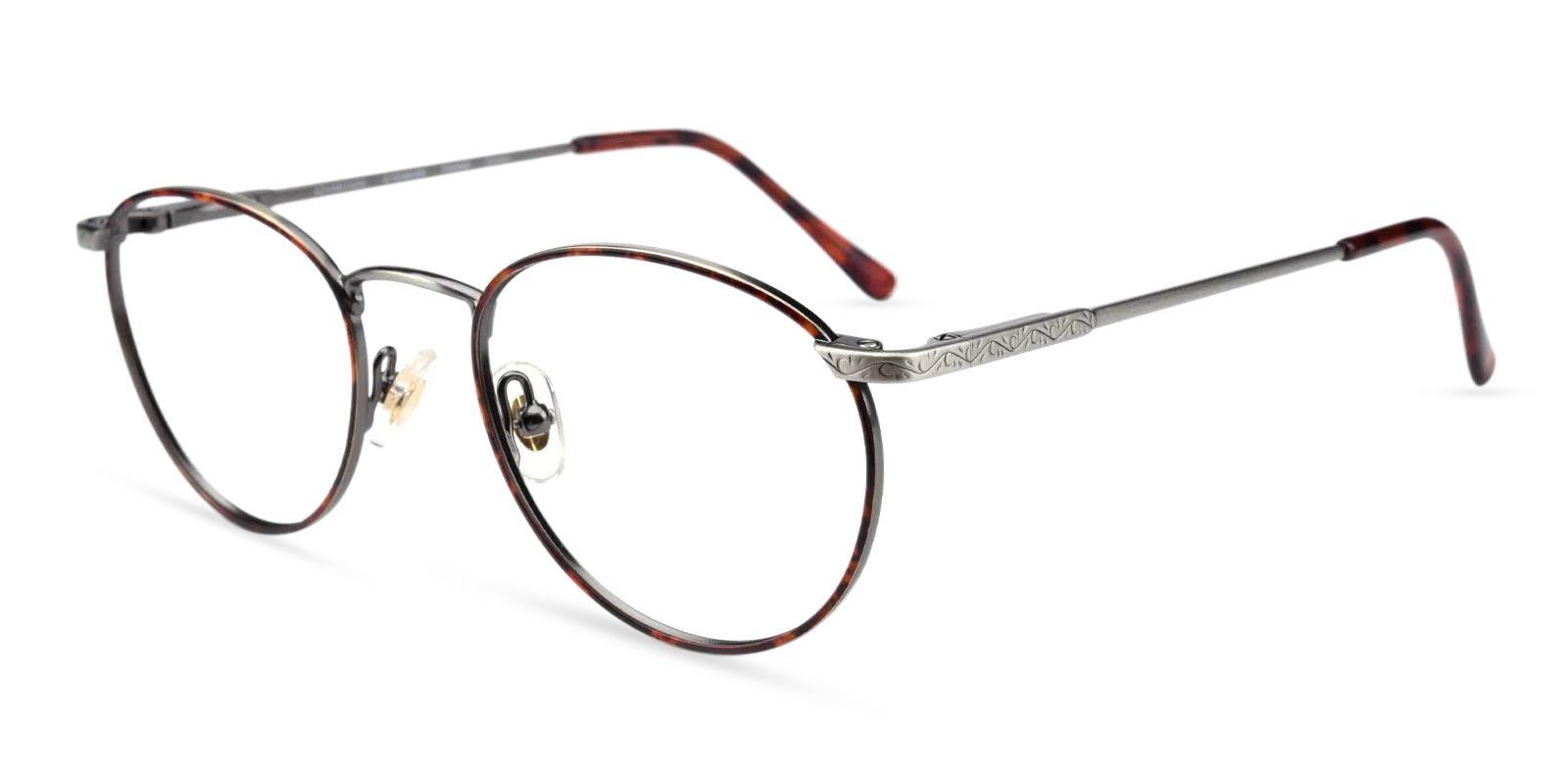 Glib Gun Metal Eyeglasses , Fashion , NosePads , SpringHinges Frames from ABBE Glasses
