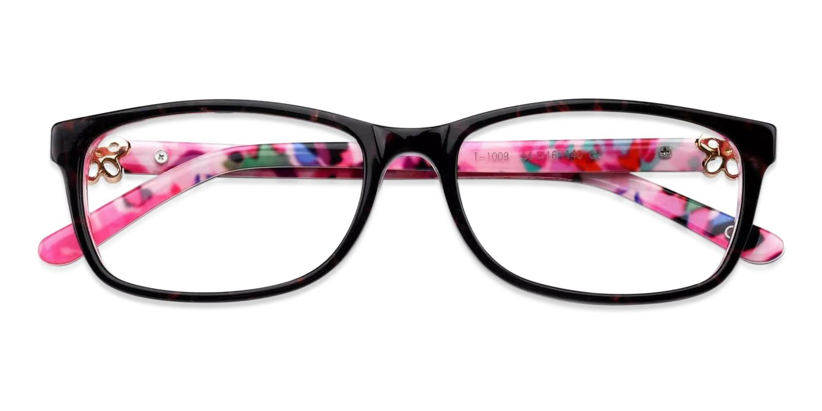 Rosa Pink Acetate Eyeglasses , Fashion , UniversalBridgeFit Frames from ABBE Glasses