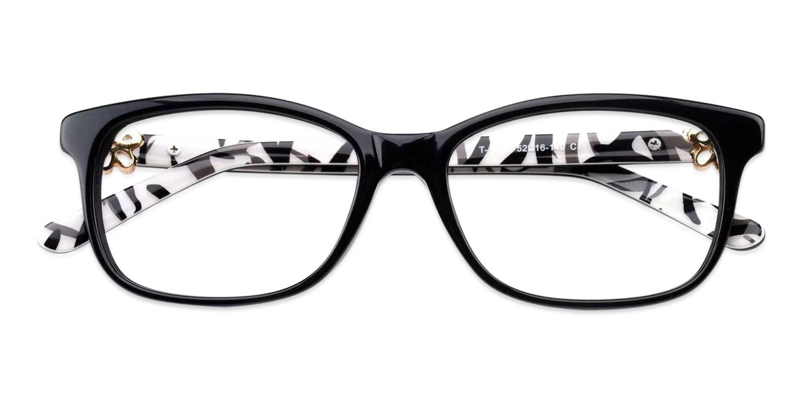 Paula Striped Acetate Eyeglasses , Fashion , UniversalBridgeFit Frames from ABBE Glasses