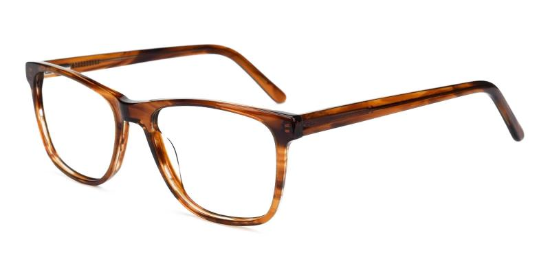 Brown Esther - Acetate ,Universal Bridge Fit