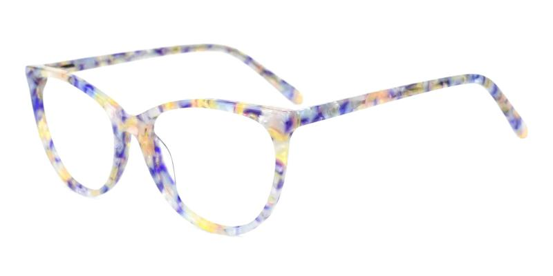 Blue Lochlosa - Acetate ,Universal Bridge Fit