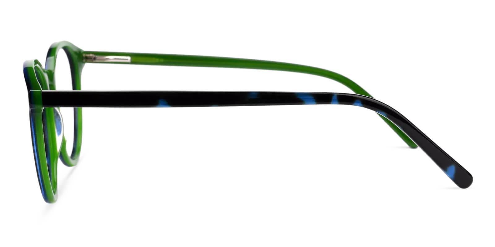 Tammy Green Acetate Eyeglasses , Fashion , SpringHinges , UniversalBridgeFit Frames from ABBE Glasses
