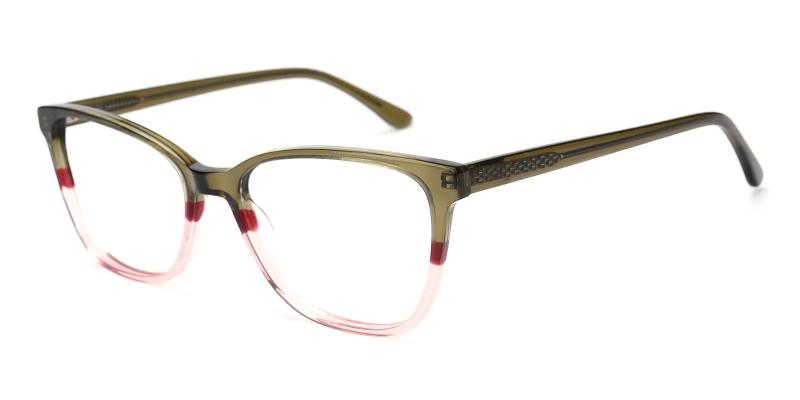 Green Rosemary - Acetate ,Universal Bridge Fit