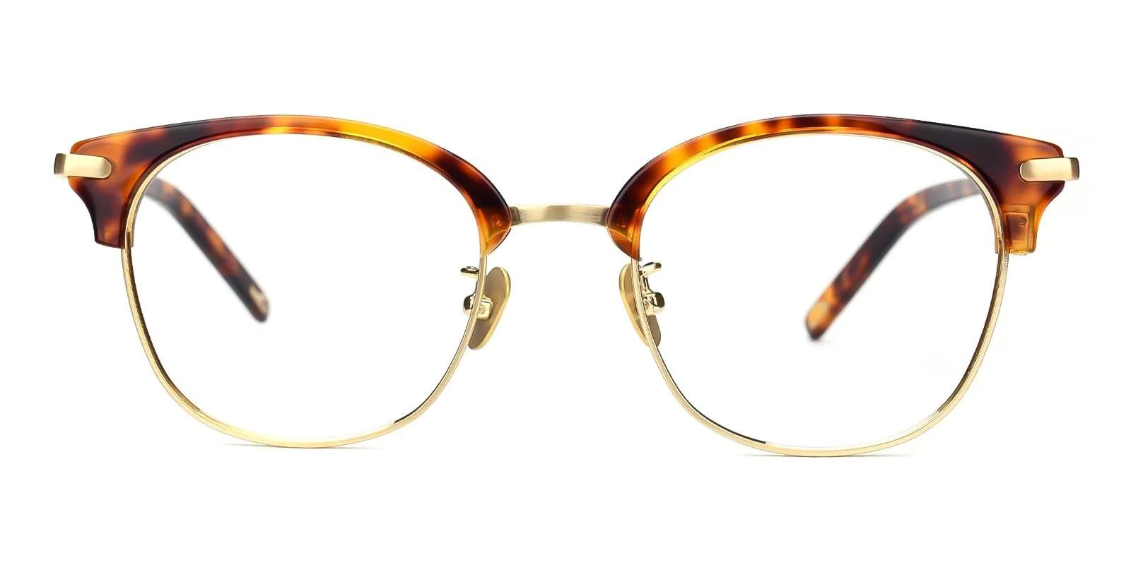 Adonia Tortoise Combination Eyeglasses , Fashion , NosePads Frames from ABBE Glasses